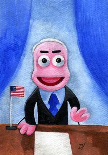 John McCain McMuppet