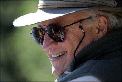 Vice President Cheney Goes Fishing