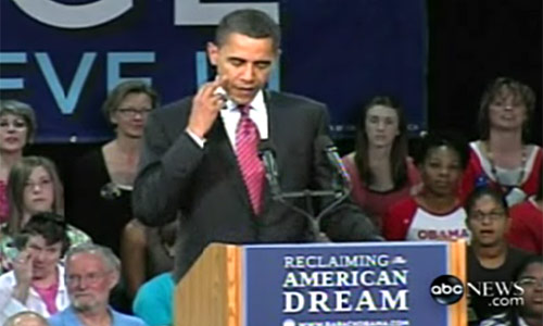Obama Giving Us the Finger